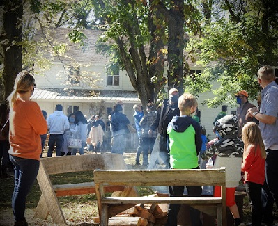 The 2020 FoodChain Festival hosted by Wormfarm Institute and held at Witwen Campground